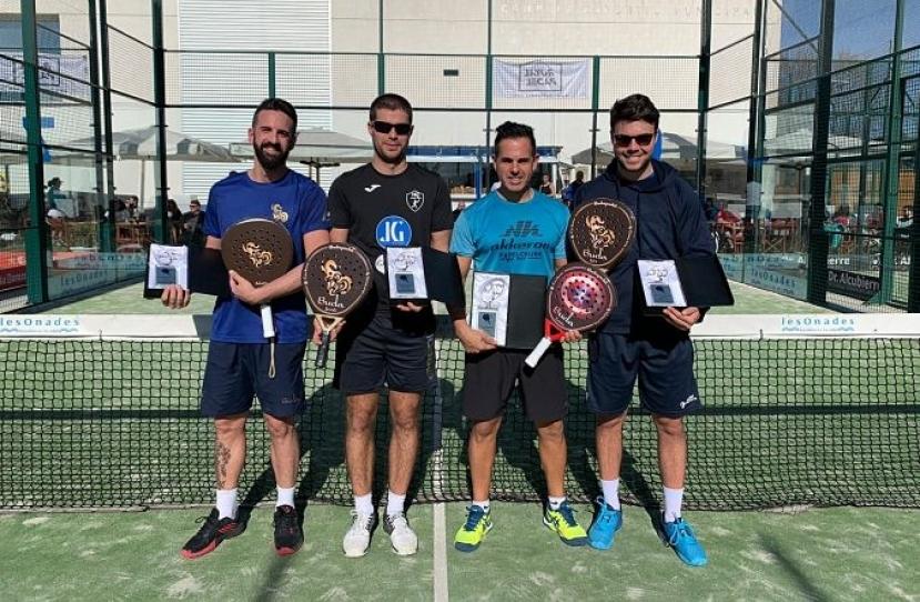 Jordi Vidal y Vicente Garcia, Campeones Master Plata 2019