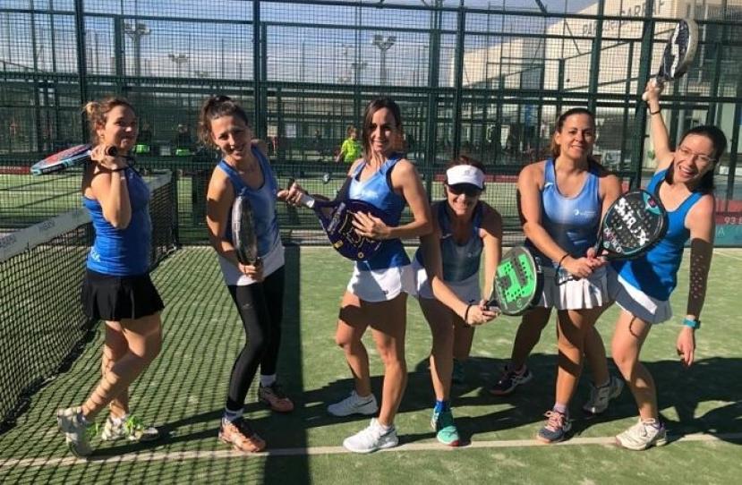 Victoria del Club Padel Vilanova Padelcat Femenino A por 2-1 frente al Padel Despi