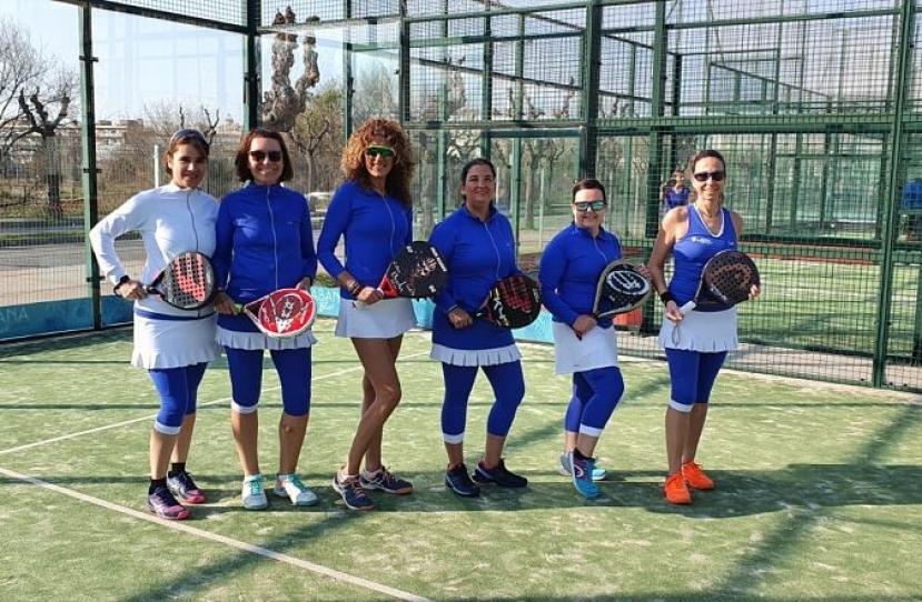Victoria del Club Padel Vilanova Padelcat Femenino C por 2-1 frente al Olesa Central 4ª