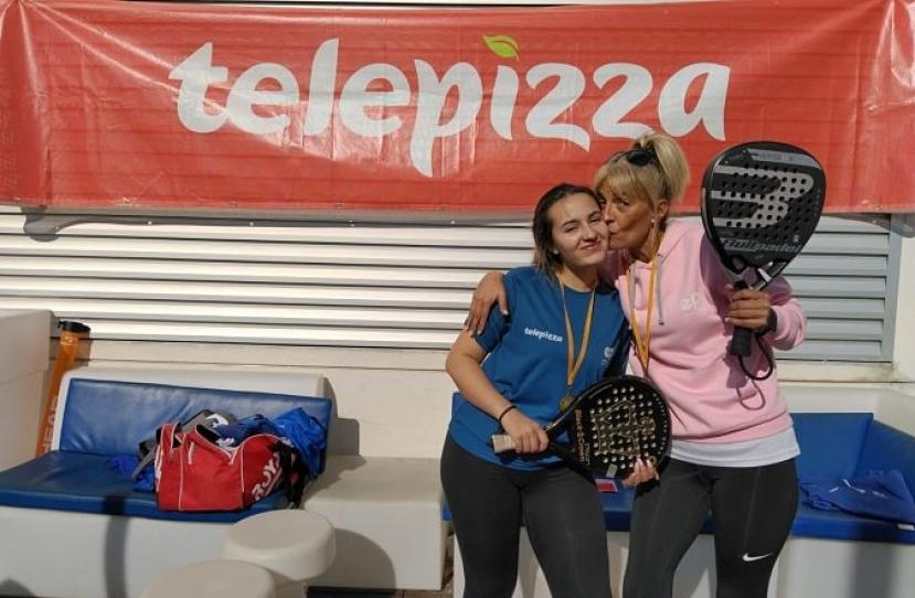 Andrea Lizana e Imma Vicente, Campeonas Consolación Torneo Padres e Hijos Nivel 2