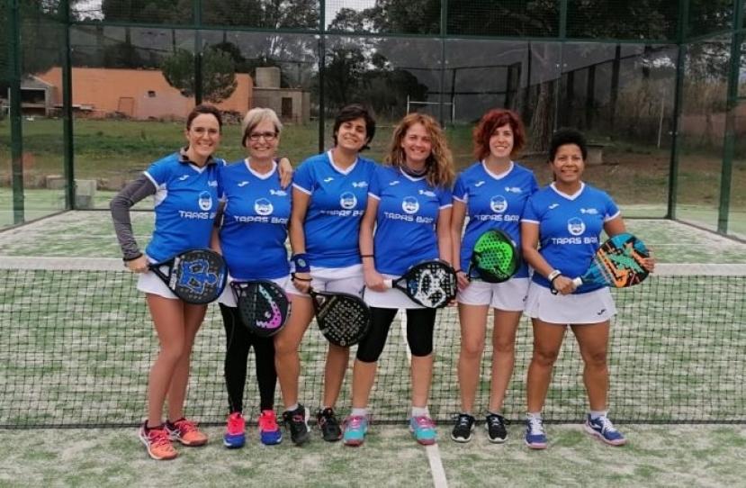 Derrota del Club Padel Vilanova Padelcat Femenino D por 2-1 frente al Queens Padel Piera