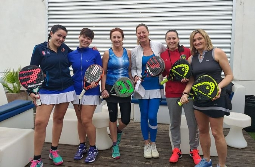 Derrota del Club Padel Vilanova Femenino B por 0-3 frente al Padel Indoor Gava