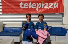 Noa Corrales e Isabel Martinez, Campeonas 3º Torneo Circuito Telepizza Nivel 2