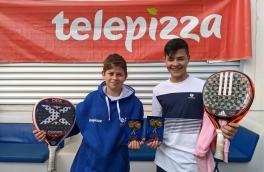 Xavi Hernández y Alex Chacón, Campeones 3º Torneo Circuito Telepizza Nivel 3