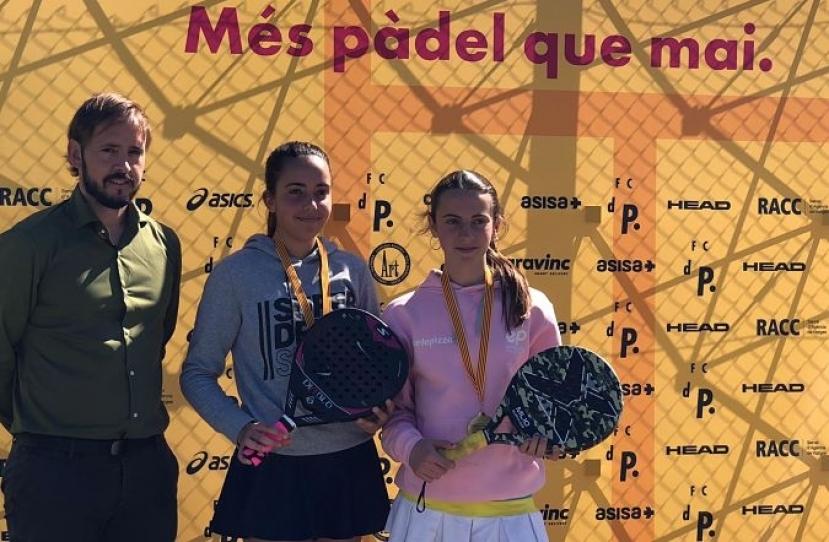 Nerea Torres y Ana Carretero, Campeonas Consolación II Gran Slam Menores FCP