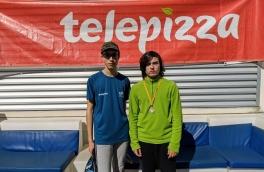 Hector De La Cruz y Didac Magdaleno, Campeones Consolación 3º Torneo Circuito Telepizza Nivel 2
