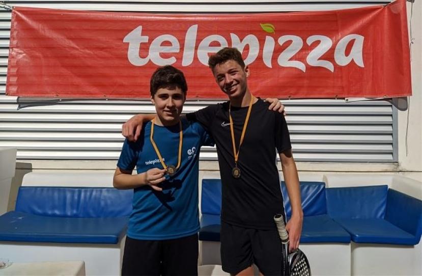 Sergi Cuesta e Ivan Tapies, Campeones Consolación 3º Torneo Circuito Telepizza Nivel 3