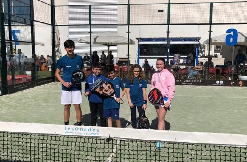 Victoria del Club Padel Vilanova Kids por 3-1 frente al Martorell Padel Club