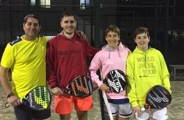 Guillem Arnau y Alex Nosea, Campeones Torneo 3ª Categoría Masculino CTV