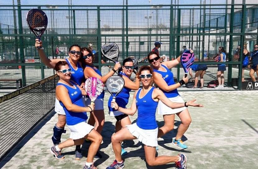 Victoria del Club Padel Vilanova Padelcat Femenino C por 2-1 frente al Slam Padel