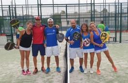 Victoria del Club Padel Vilanova Mixto 1ª por 3-0 frente al Sports La Pava
