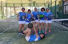 Derrota del Club Padel Vilanova Padelcat Femenino D por 3-0 frente al Cal Font Les Moreres