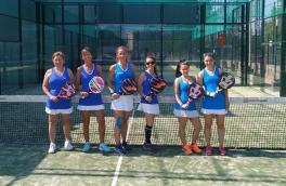 Derrota del Club Padel Vilanova Femenino B por 2-1 frente al Sports La Pava