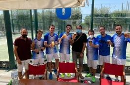 Victoria del Club Padel Vilanova Padelcat Masculino A por 3-0 frente al Complex Aquatic Vilafranca