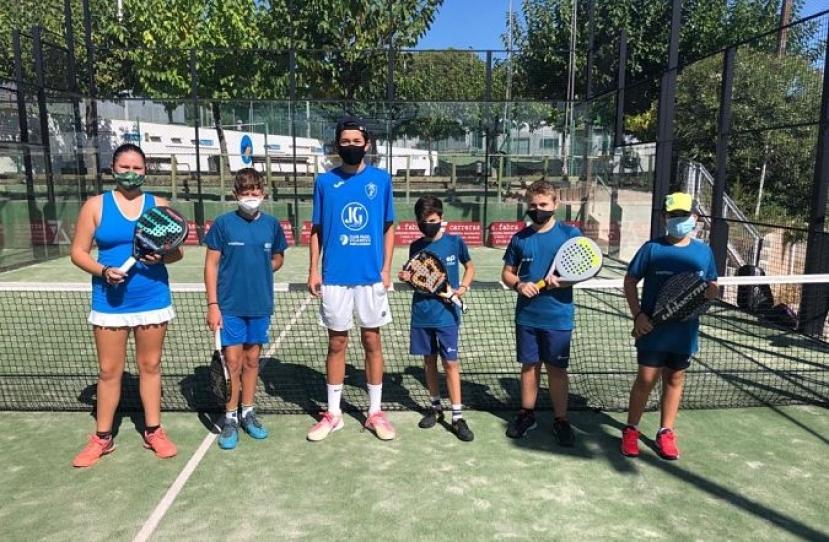 Empate del Club Padel Vilanova Kids por 2-2 frente al Padel Cevello