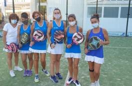 Victoria del Club Padel Vilanova Femenino C por 2-1 frente al Club Tenis Vilanova