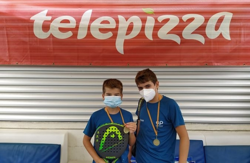 Miquel Torras y Miquel Sanchez, Campeones Consolación 4º Torneo Circuito Telepizza Nivel 3
