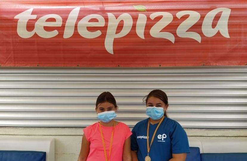 Ainhoa Ortega y Claudia Romero, Campeonas Consolación 4º Torneo Circuito Telepizza Nivel 2