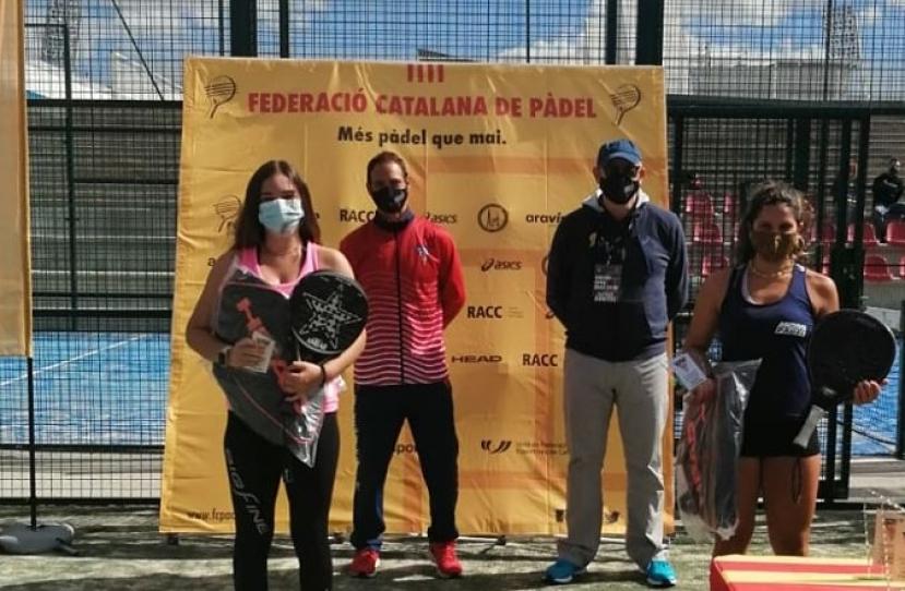 Lucia Rosa, Subcampeona del OPEN CN Terrassa FCP