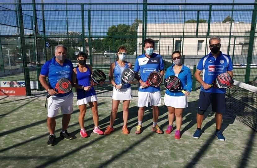 Victoria del Club Padel Vilanova Mixto 2ª por 2-1 frente al Tennis Despí