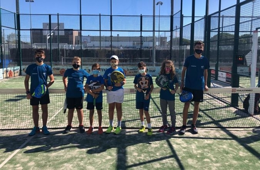Victoria del Club Padel Vilanova Kids por 0-4 frente al Gran Via Mar