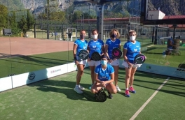Derrota del Club Padel Vilanova Padelcat Femenino D por 3-0 frente al Slam Padel