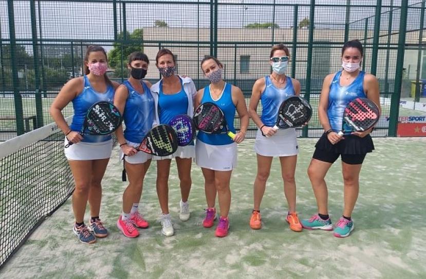 Derrota del Club Padel Vilanova Femenino B por 1-2 frente al Tennis La Salut