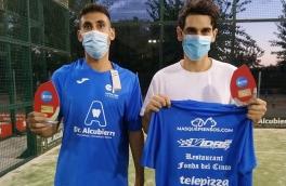 Aleix Román y Raul Jané, Campeones Consolación 9ª Prueba Circuito 4ª Categoría Masculino