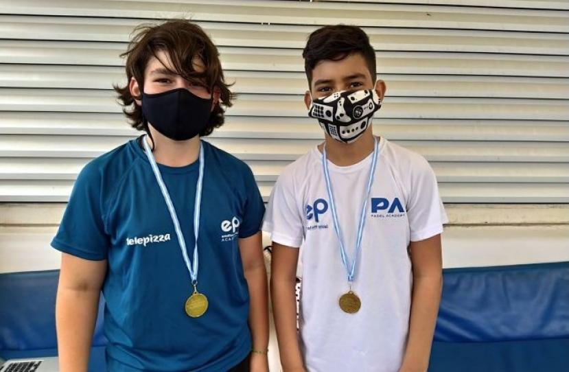 Eloy Tapia y Victor Garcia, Campeones Consolación 6º Torneo Circuito Telepizza Nivel 2