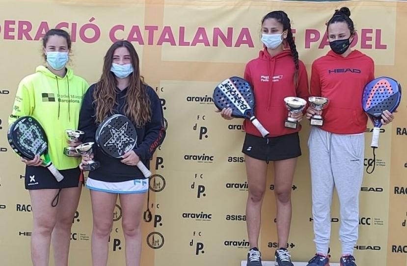 Lucia Rosa, Subcampeona del I Super Gran Slam FCP Cadete Femenino