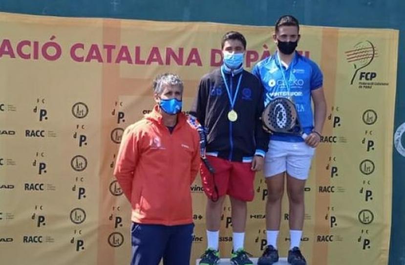 Manel Tabueña y David Martinez, Campeones de Consolación del I Super Gran Slam FCP Cadete Masculino
