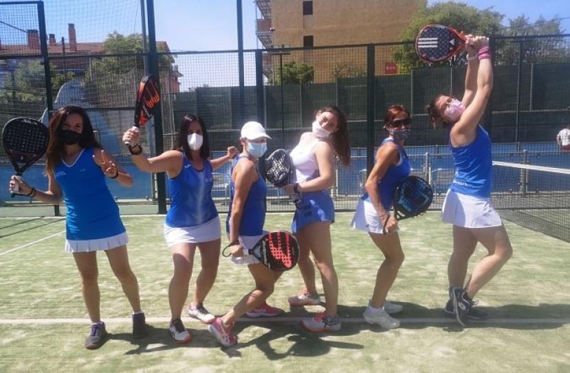 Club Padel Vilanova Padelcat Femenino A, clasificado la Final del Masters Padelcat